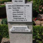 Grave og mindesten på Dybbøl Kirkegård, 7 Preussiske soldater