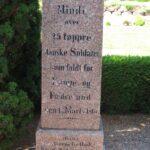 Grave og mindesten på Dybbøl Kirkegård, 25 danske soldater