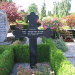 Grave og mindesten på Dybbøl Kirkegård, Carl Ruter