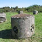Stevnfortets overflade, ventilationstårne