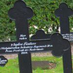 Grave og mindesten på Flensborg kirkegård, 9 preussiske Füsiliere