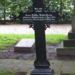 Grave og mindesten på Flensborg kirkegård, Gustav Bennig