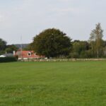 Kamppladsen ved Lundby, forsvarsstillingen