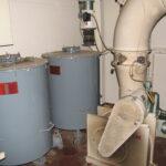 Luftforsvarets støttefunktioner, gasfiltre i Ejbybrobunkeren