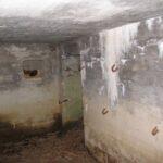 Sikringsstilling Nord, Intakte Bunkere fra Gl. Torsbjerg batteri, indgang mandskabsrum