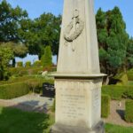 Mindesten Lundby og Gunderup for slaget ved Lundby, Gunderup kirkegård