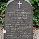 Grave på Garnisons kirkegård og mindesten,KAPT H.S. Gyldenfeldt Dybbøl