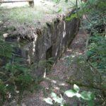 Intakte bunkere i Kalby plantage, halvdelingsbunker