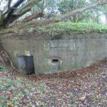 Bunkere i bakkerne over Hoptrup, flankeringsbunker