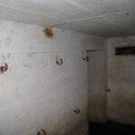 Bunkere i bakkerne over Hoptrup, mandskabsrum i flankeringsbunker