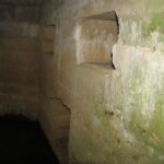 Bunkere i bakkerne over Hoptrup, mandskabsrum