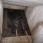 Bunkere i bakkerne over Hoptrup, panserslidsen