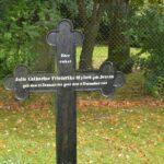Mysunde efter krigen, Julie Milord gravsted Kosel