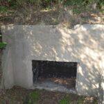 Rester af Skovby batteri, ammunitionsrum kanon 1