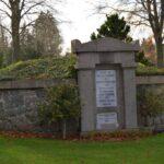 Grave og mindesten på Kolding kirkegård, monumnet begge krige