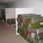 Stevnsfortets artilleri, ladningsmagasin
