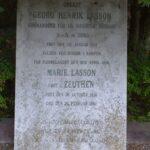 Grave på Garnisons kirkegård og mindesten, Oberst G.H. Lasson, Dybbøl