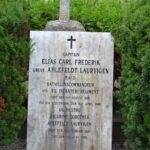 Grave på Garnisons kirkegård og mindesten, Kapt E.C.F. Ahlefeldt Lauervigen, Dybbøl,