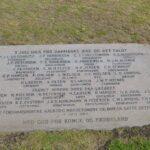 Mindesten Lundby og Gunderup for slaget ved Lundby, de faldne