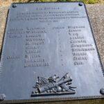 Mysunde efter krigen, mindesmærke på dansk skanse