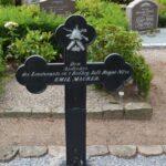 Grave og mindesten på Nybøl kirkegård, Emil Maurer