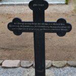 Grave og mindesten på Nybøl kirkegård Serdt Heinrich Begwan lazaret 8. april