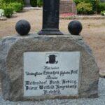 Grave og mindesten på Nybøl kirkegård, 9 preussiske faldne