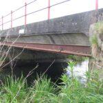 Pionerbroen ved Bevtoft, stemmebjælker