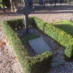 Grave og mindesten på Kolding kirkegård, C.G.Dzllah 17 marts