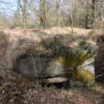 Rester af batteriet i Allerup Krat, Bunker rest