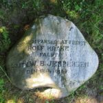 Mindesten i Dybbøl skanser, Løjtnant fra Rolf Krake