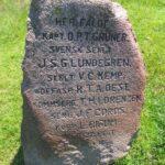 Mindesten i Dybbøl skanser, mindesten 7 faldne