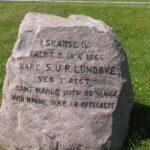 Mindesten i Dybbøl skanser, Lundbye