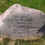 Mindesten i Dybbøl skanser, S. Stenmark
