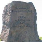 Grave og mindesten på Dybbøl Banke, preussisk mindesten