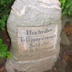 Grave og mindesten på Sct Maria kirkegård, 2 danske soldater
