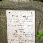 Grave og mindesten på Sct Maria kirkegård, M.C, Knipper 1864