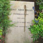 Grave og mindesten på Sct Maria kirkegård, Ernst A. Bruhn