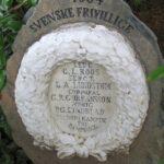 Grave og mindesten på Sct Maria kirkegård, 4 svenske frivillige