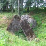 Resterne af Torsbjerg batteri, sprængt bunker