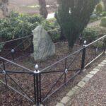 Grave og mindesten på Varnæs kirkegård, 10 danske og 3 preussiske