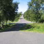HAWK afskydningsplads i Højerup, vej på området
