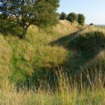 Forter og skanser, tambour ved indgang til Preussisk Fort X