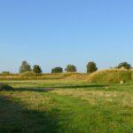 Forter og skanser, traverser i Pre - dansk skanse V og VIussisk Fort X