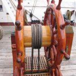 Fregatten Jylland, rattet
