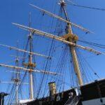 Fregatten Jylland, rigningen