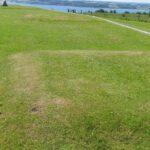 Forter og skanser, rester af traverser i dansk skanse IV,