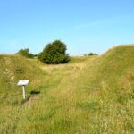 Forter og skanser, indgangen tiol Preussisk Fort IX, Dybbøl